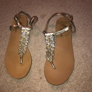 Shoes - jeweled sandals